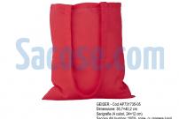 sacose de panza - bumbac - geiser rosie