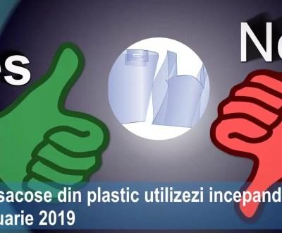 sacose din plastic utilizare din ianuarie 2019