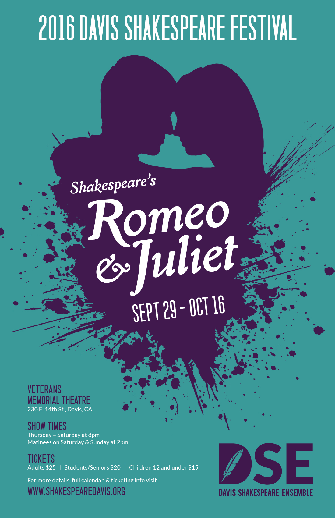 Romeo And Juliet Presented By Davis Shakespeare Ensemble
