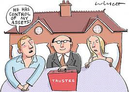 Trustee in Your Bed