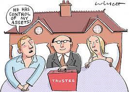 Trustee in Your Bed