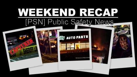 Public Safety Weekend Recap, Jan. 11-13, 2014