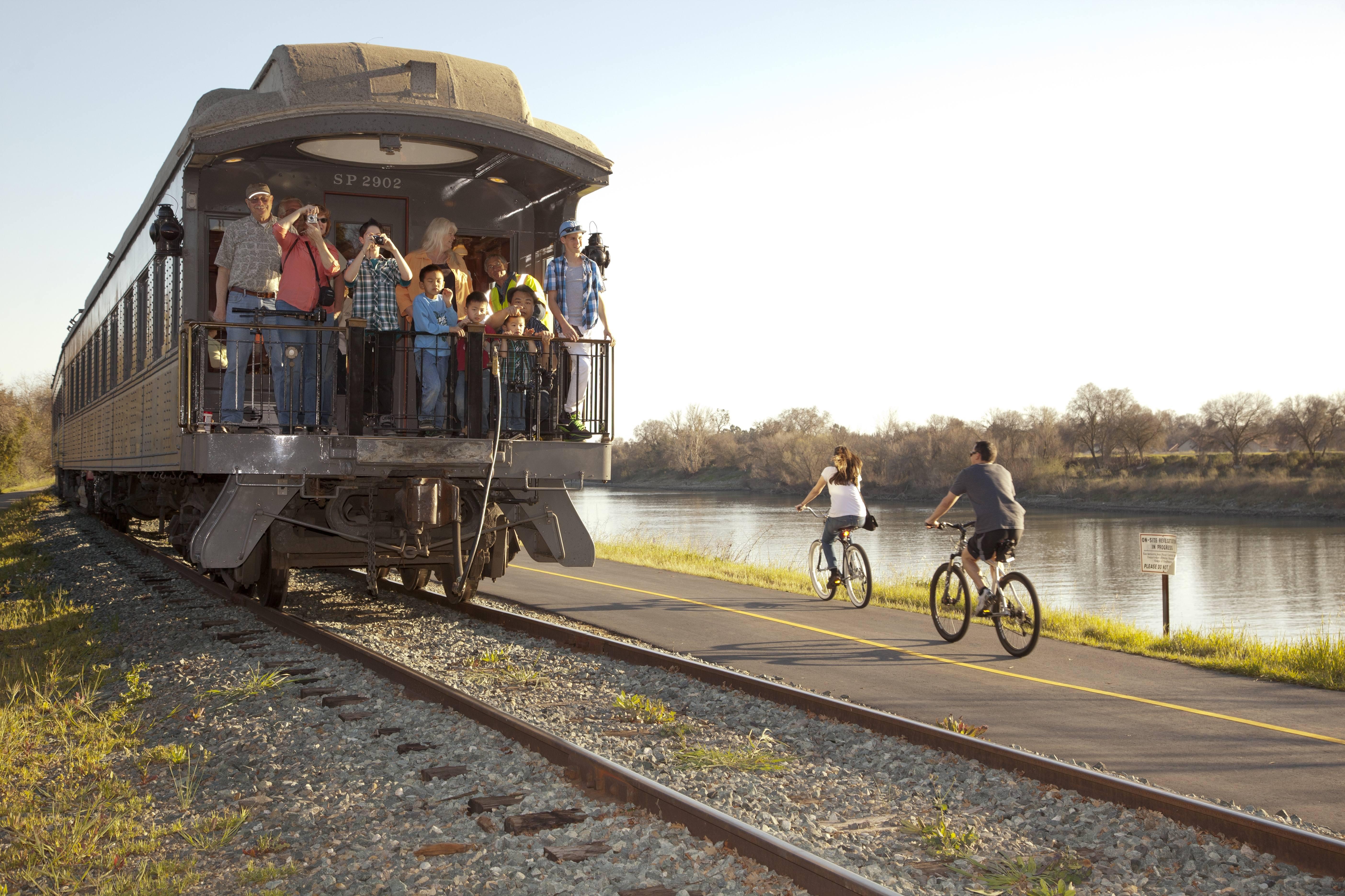 Tuesdays are for Train Rides in Sacramento via @sacramentopress