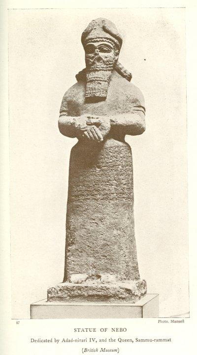 Statue of Nebo