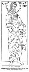 ST. JOHN THE BAPTIST. A TRIPTYCHON BY AN ITALIAN PAINTER OF THE THIRTEENTH OR FOURTEENTH CENTURY.