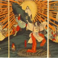 Kojiki; the oldest book in Japan about the beginning of time (Japanese mythology)