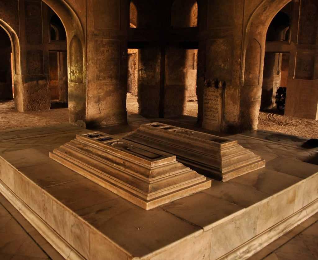 The Tomb of Noor Jahan