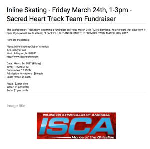 Inline Skating fundraiser