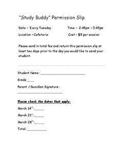 Study Buddy March Permission Slip_Page_2