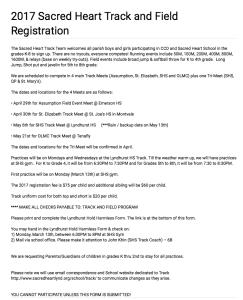Track Registration