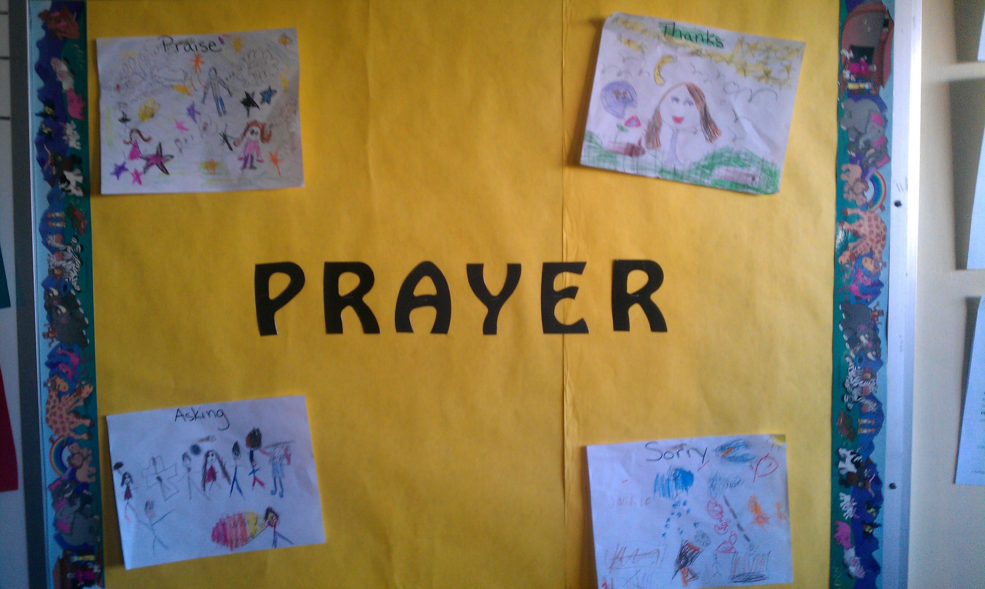 First Grade Religion Update