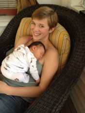 postpartum doula, newborn, Katy Doula
