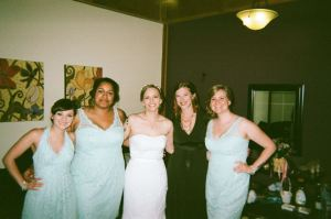 New  Ypsilanti doula wedding photo