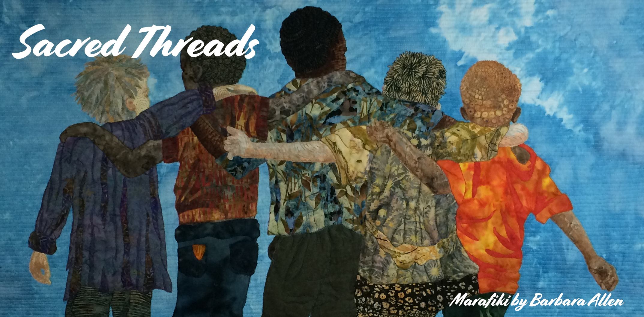 Image result for sacred threads exhibit