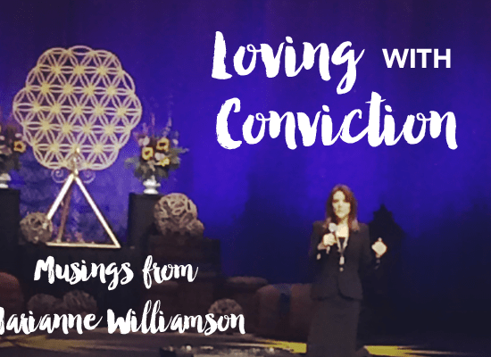 Marianne Williamson at Bloom 2015 Edmonton, AB