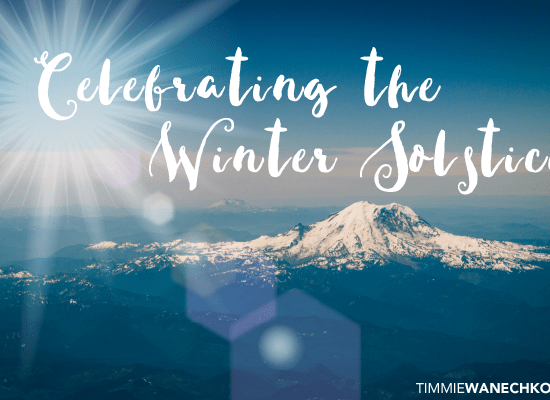 Celebrating the Winter Solstice - Timmie Wanechko, Edmonton Reiki Training