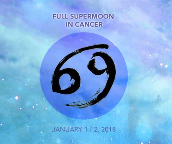 Full SuperMoon in Cancer - January 1 / 2, 2018 by Timmie Horvath Edmonton Reiki Training Crystal Healing Certification Aromatherapy Courses
