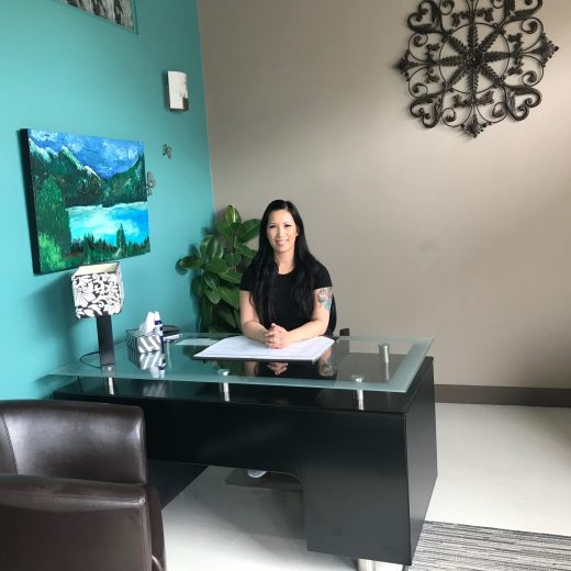 Timmie Horvath, Owner of The Sacred Wellness Clinic in St. Albert, AB