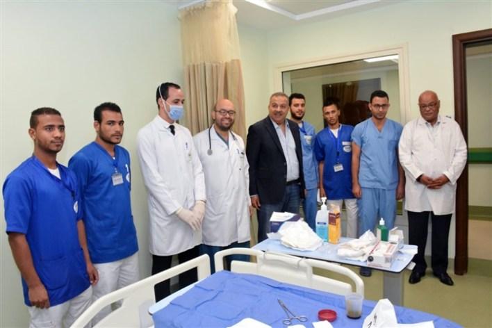 نتيجة بحث الصور عن مدير «الأقصر الدولى» يزور مستشفى شفاء الأورمان لتبادل الخبرات