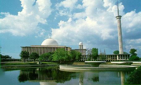 Masjid at Jakarta,Indonesia