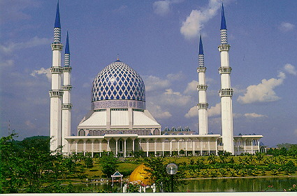 Shah Alam Masjid at Kuala Lumpur,Malaysia