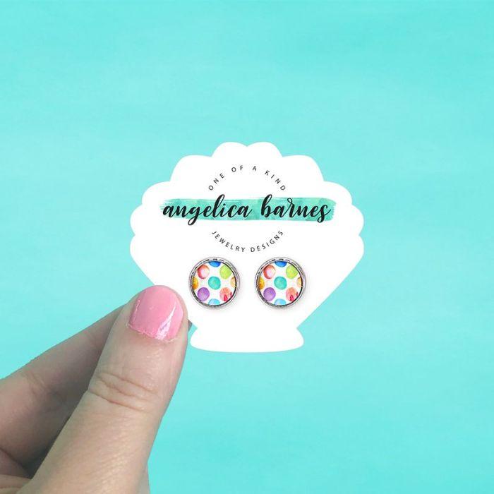 Seashell Jewelry Cards