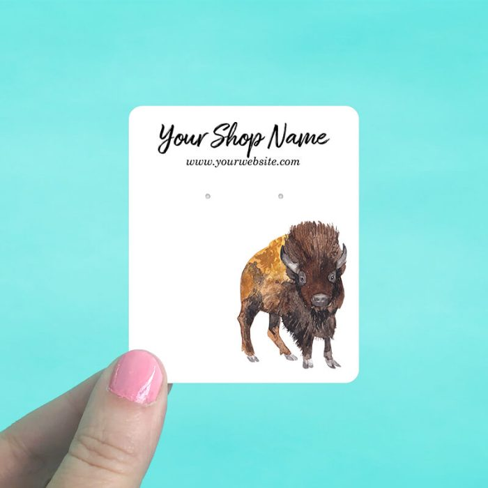 Buffalo Jewelry Display Cards