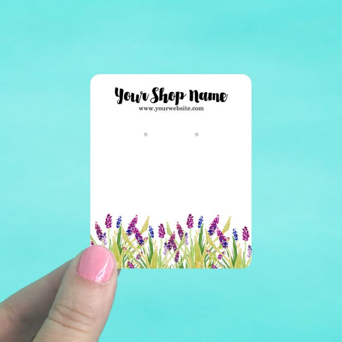 Bluebonnets Jewelry Display Cards