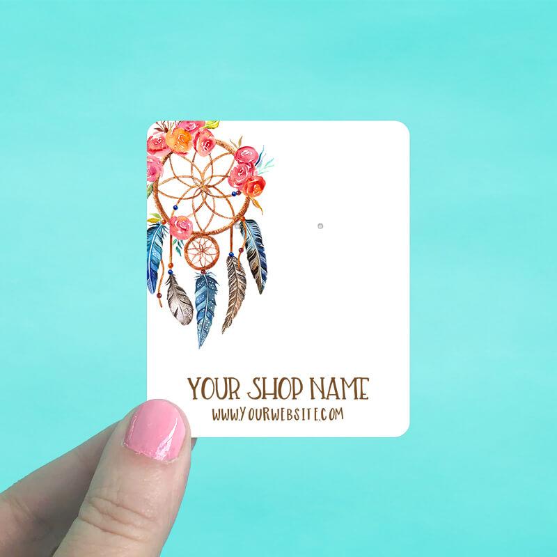 Dreamcatcher Jewelry Display Cards