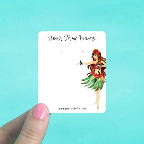 Aloha Girl Jewelry Display Cards
