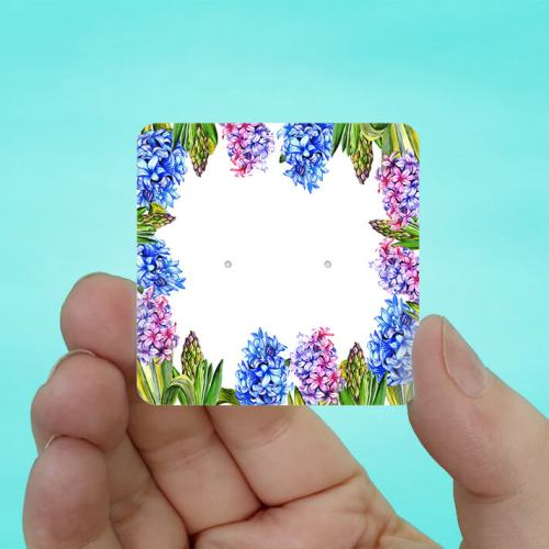Hyacinth Stud Earring Cards