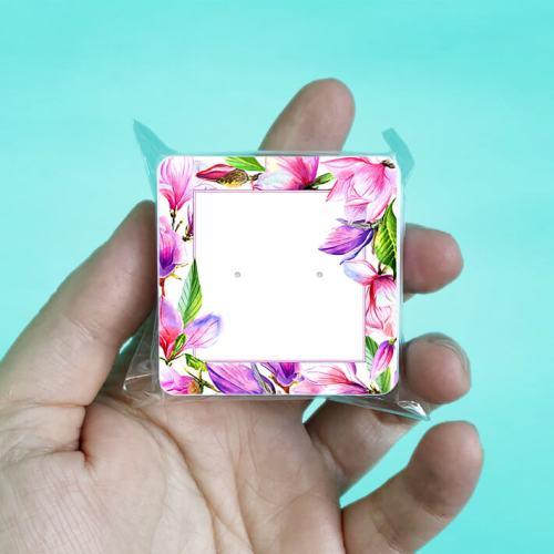 Magnolia Stud Earring Cards