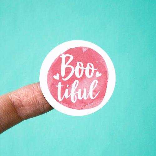 Boo-tiful Stickers