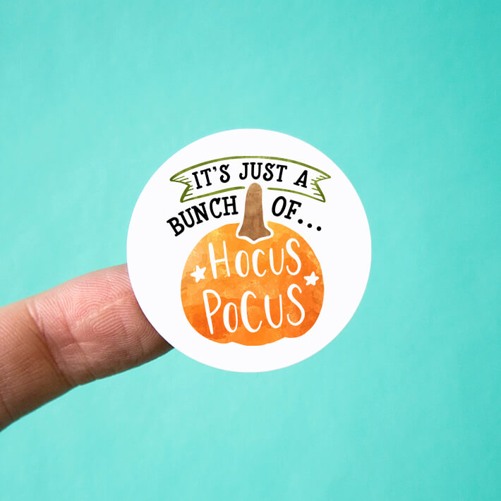 Just a Bunch of Hocus Pocus Stickers