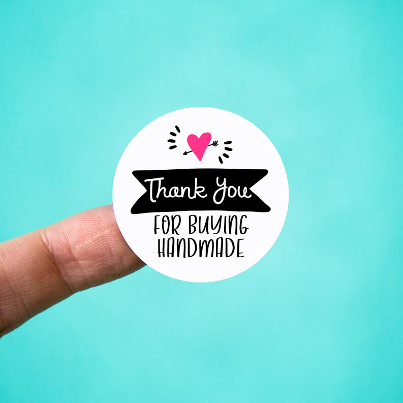Thank You for Buying Handmade Stickers
