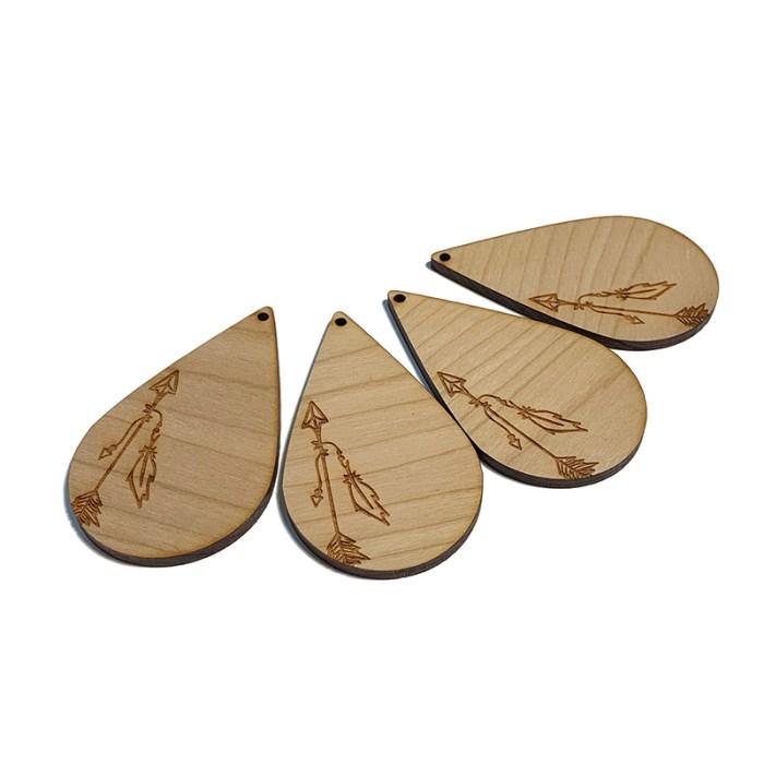 Rustic Arrow Wooden Drop