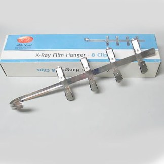 Stainless Steel X-Ray Film Hanger - 8 Clips