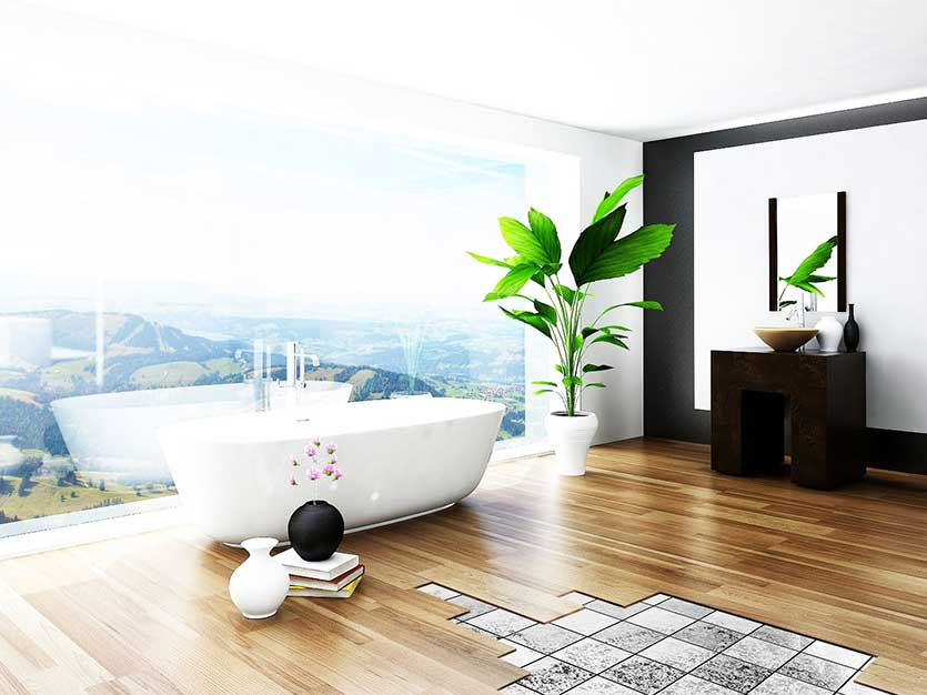 over tile floors with traviata flooring