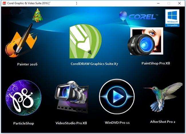 Corel Graphic & Video Software Suite 2016