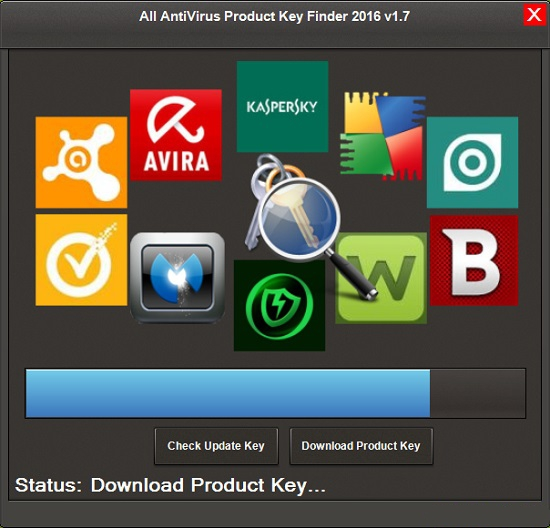 All AntiVirus Product Key Finder 2016 v1.7 + Portable