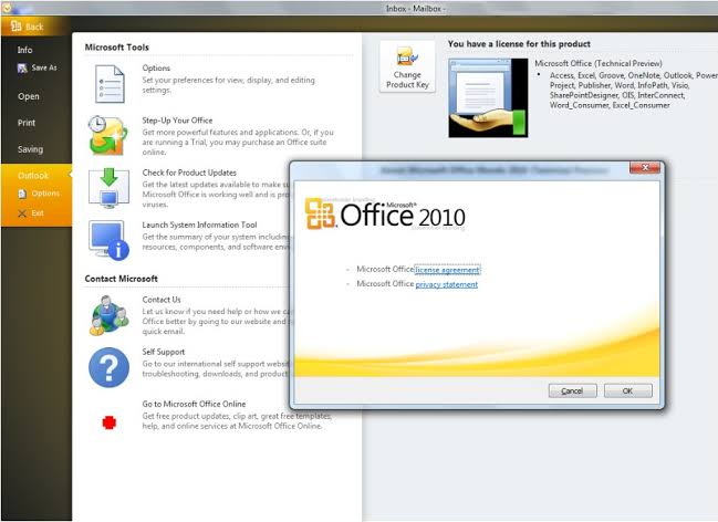 Microsoft Office 2010 Professional Plus Crack Serial Key