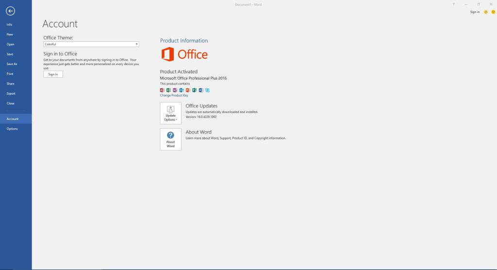 Microsoft Office Professional Plus 2016 Crack Activator