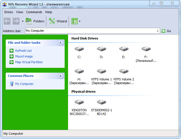 NTFS Recovery Wizard 1.5 + Portable