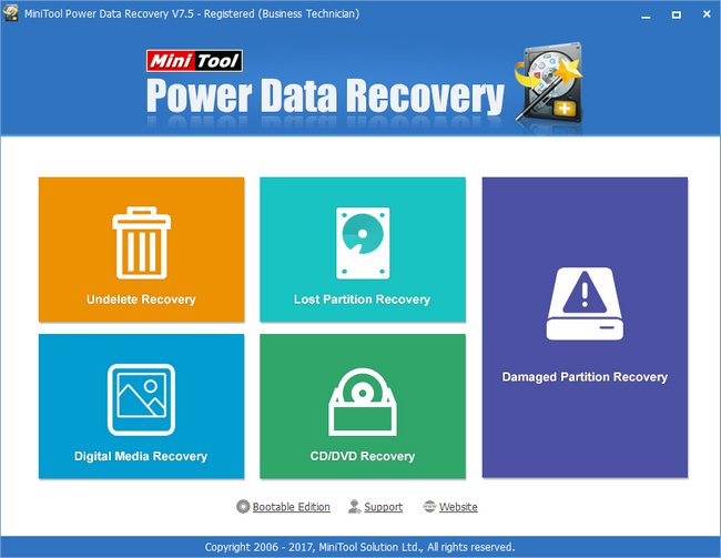 MiniTool Power Data Recovery Full Crack