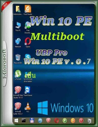 UBP Pro Win 10 PE Multiboot v0.7 Full