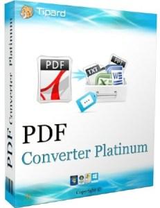 Tipard PDF Converter Platinum Full Crack