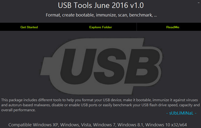 USB Tools Collection 2016