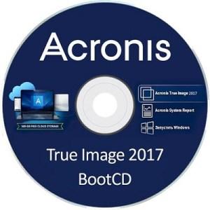 Acronis True Image 2017 BootCD Full