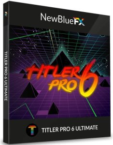NewBlueFX Titler Pro 6 Ultimate Crack