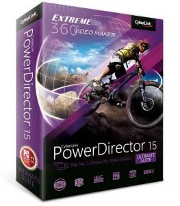 CyberLink PowerDirector Ultimate Suite 15 Crack Keygen Serial Key